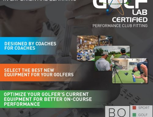 Club fitting per Maestri di Golf 10-11 Ottobre 2019