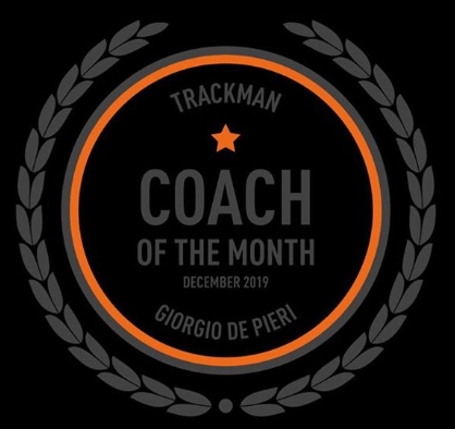 Coach of the month: GIORGIO DE PIERI